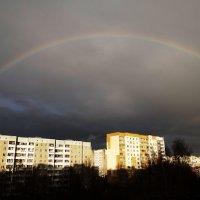 Город под радугой :: Diana Razgulova
