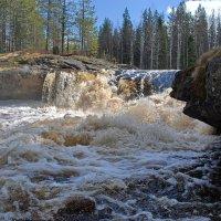 Река Шуя беломорская, Пуло порог :: Валерий Толмачев