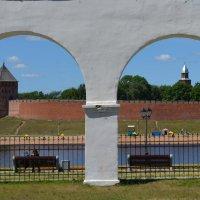 Новгородский кремль(детинец) :: Ирина Михайловна