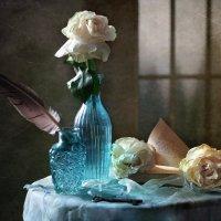 Натюрморт с увядающими розами :: lady-viola2014 -