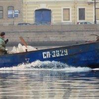 ... с катера... :: Владимир Гилясев