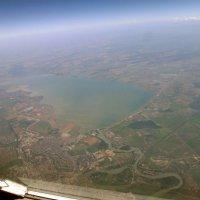 """Вид на """" Краснодарское море"""" с 9000 метров :: Alexey YakovLev"""