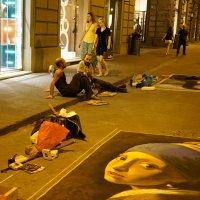 Уличные художники :: Николай Танаев