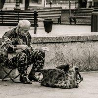 Уличный музыкант :: Александра Ламбина