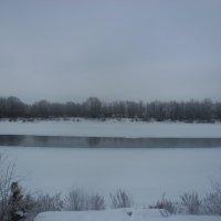 зимнее зеркало :: Людмила
