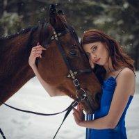 Девушка с лошадью :: Андрей Мирошниченко