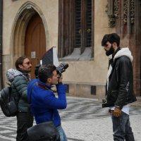 Фешн-съёмка в центре Праги :: Ольга Долбилина