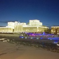 Вечерняя прогулка по Москва-реке... :: Николай Дони