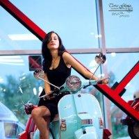 Лучший ретро-скутер в мире - МОЙ :: Daria S.