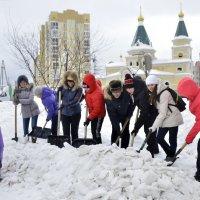 "Субботник""Приближаем весну"" :: Viktor Pjankov"