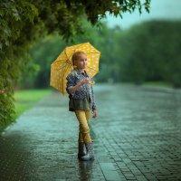 В летний дождь :: Елена Заводнова