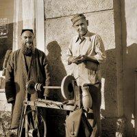 Точильщик и его клиент :: Валерий Талашов