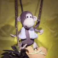 Добрая обезьянка :: Aнна Зарубина