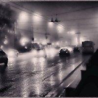 Ночной проспект в тумане. :: Laborant Григоров
