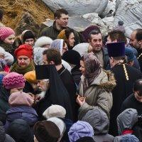 Освящение Креста на храм Алексея Мечёва. :: Юрий