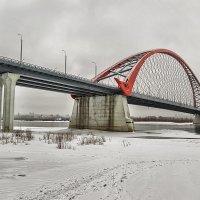Бугринский мост. :: Sergey Kuznetcov