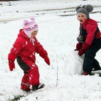 рады снегу :: Нина