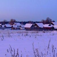 Ранее утро в моем поселке :: Павлова Татьяна Павлова