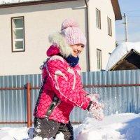 Снежная девочка :: Света Кондрашова