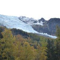 Ледник в Альпах :: Lüdmila Bosova
