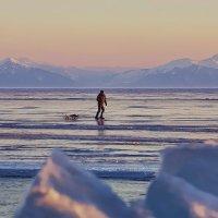 Путник вечерних льдов :: Александр | Матвей БЕЛЫЙ