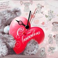 "Часы-валентинка ""С Любовью..."" :: NeRomantic Выползова"