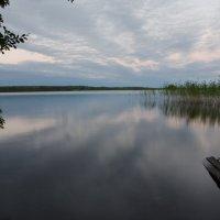 Вечер на Комсомольском озере. :: Ольга Козинец