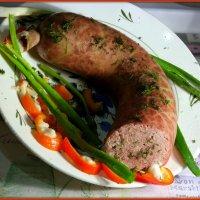 Колбаска печеночная домашняя :: Андрей Заломленков