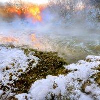 Возгорание на закате... :: Андрей Войцехов