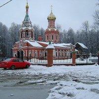 Церковь в Красногорске :: Виктор Неклюдов