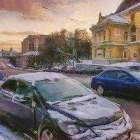 А я бегу своею памятью назад... :: Ирина Данилова