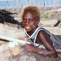 Охранница.Папуа Новая Гвинея :: Антонина