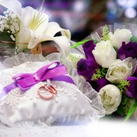 сиреневая свадьба :: Наталья