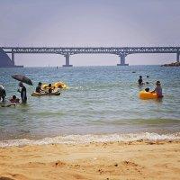 Пляж Пусана.Южная Корея. :: Евгений Подложнюк