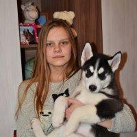дочка с Бардом :: Светлана