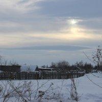 Хмурый зимний денек :: Валерий Скобкарёв