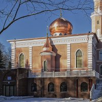 Мечеть в г.Минск :: Алексей Леухин