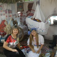 Слева дочь Марина :: Виктор Казбанов