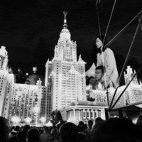 Огни молодой Москвы :: Андрей Михайлин
