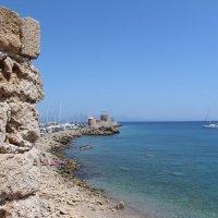 Родос.Вид с бастиона на море. :: vadimka