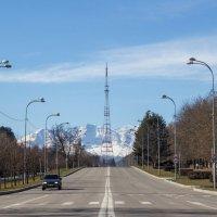 IMG_0828 вид на горы из города :: Олег Петрушин