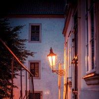 Прага,ночь, фонарь... :: Арсен Гуварьян