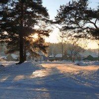 Мой поселок.Зима :: Павлова Татьяна Павлова