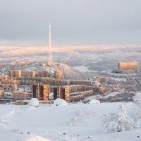 Морозный Мурманск :: Олег Сидорин
