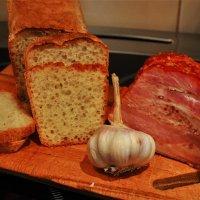 Натюрморт с алтайским хлебом :: Сергей Чиняев