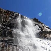 Водопад в горах :: Николай Мордвов