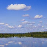 Облака лишь бы не утонули в пруду :: Владимир Максимов