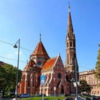 Кальвинистская церковь в Будапеште :: Денис Кораблёв