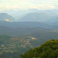 вид с горы Ахун :: Олег Кручинин