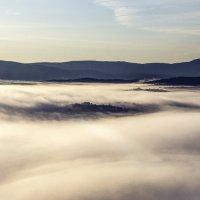 Утро над облаками :: Георгий Морозов